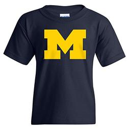 Michigan Wolverines Primary Logo Youth T-Shirt - X-Large - N