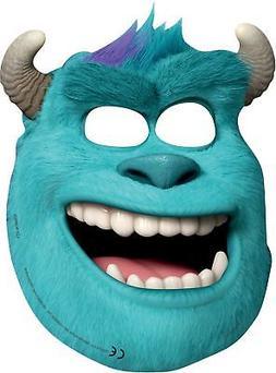 Disney Monster University 6 Face Mask Kids Birthday Party Fu