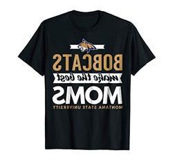Montana State University Bobcats Best Moms T-Shirt - Apparel