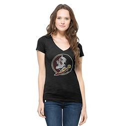 NCAA Florida State Seminoles Women's '47 V-Neck Scrum Tee, J