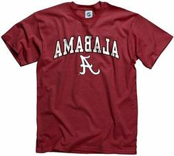Campus Colors NCAA Adult Arch & Logo Soft Style Gameday T-Sh