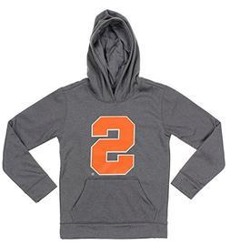 NCAA Big Boys Youth Pullover Grey Hoodie , Syracuse Orange