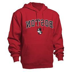 NCAA Boston University Terriers Benchmark Hood, Red, X-Large