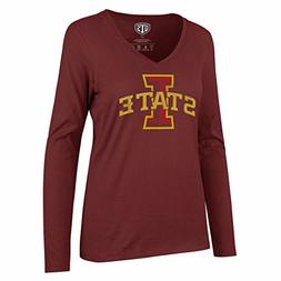 OTS NCAA Iowa State Cyclones Women's Rival Long sleeve Distr