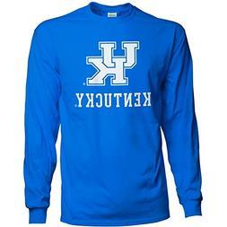 Elite Fan Shop NCAA Men's Kentucky Wildcats Long Sleeve Shir