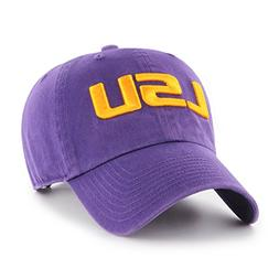 NCAA Lsu Tigers OTS Challenger Adjustable Hat, Purple, One S