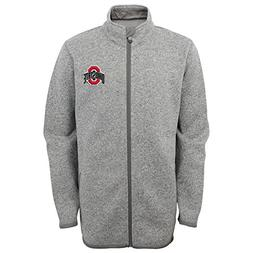Outerstuff NCAA Youth Boys 8-20 Ohio State Full Zip Sweater