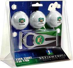 NCAA Ohio University Bobcats - 3 Ball Gift Pack with Hat Tri