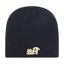 OTS NCAA Pittsburgh Panthers Beanie Knit Cap, Navy, One Size