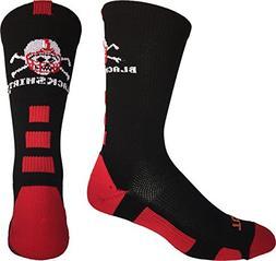 TCK Sports Nebraska Cornhuskers Blackshirts Crew Socks