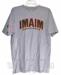 New Mens Knights Apparel University of Miami Hurricanes T-Sh