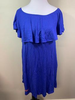 NEW NCAA University Of Florida Gators Blue Dress Flounce Med