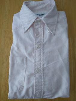 New Thom Browne Pink University Oxford Button Down Shirt Dre