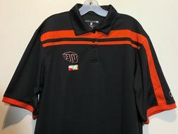 New UTEP Miners Men's Polo Dress Shirt Gray University of Te
