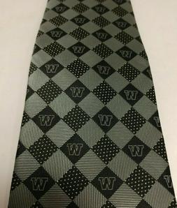 NWOT Collegiate University Necktie Poly Silk London 400 by C