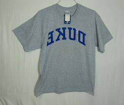 NWT Duke University Blue Devils NCAA College T Shirt Size LA