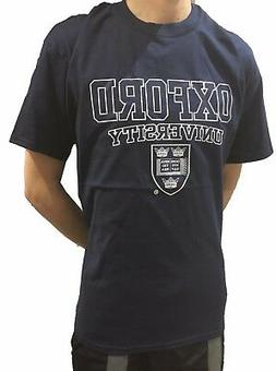 Official Oxford University Crest T-shirt - Navy - Official A
