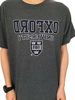 Official Oxford University Crest T-shirt - Dark Grey - Offic
