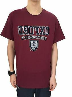 Official Oxford University Crest T-shirt - Maroon - Official