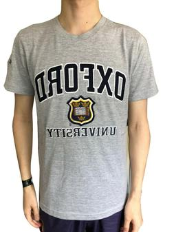 Official Oxford University Crest T-shirt - Official Embroide