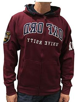 Oxford University Official Zip Hoody - Official Apparel of T