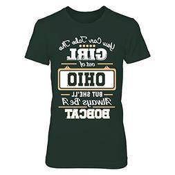 FanPrint Ohio Bobcats - Take The Girl Out - Gildan Women's T