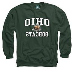 Ivysport Ohio University Crewneck Sweatshirt, Legacy, Hunter