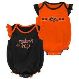Oklahoma State University Creeper 2 Pack Homecoming Bodysuit