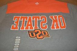 osu oklahoma state university orange grey short