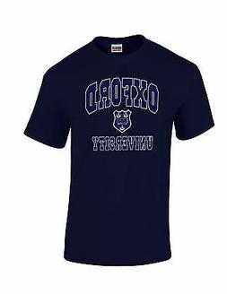 Oxford University T-Shirt Applique Merchandise Gifts Unisex