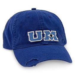 Disney Park M U Monsters University Adult Size Baseball Hat