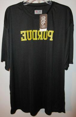 Purdue Adult 2XL Black Boilermakers T-Shirt UGP Campus Appar