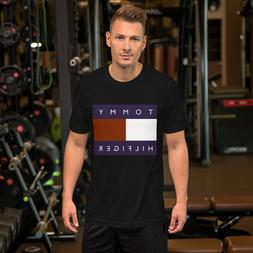 Short-Sleeve Unisex T-Shirt Tommy Hilfiger USA Printed on cl