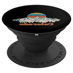 state of colorado mountain view popsockets grip