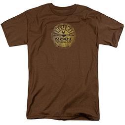 Sun University Distressed -- Sun Records Adult T-Shirt, Larg
