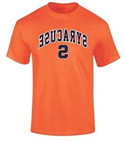 Elite Fan Shop Syracuse Orange TShirt Arch Orange - L