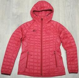 THE NORTH FACE THERMOBALL SPORT HOODIE JUICY RED - insulated
