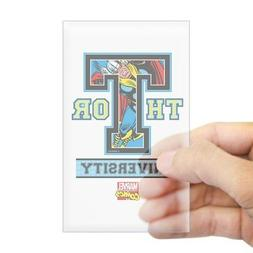 CafePress Thor University Rectangle Bumper Sticker Car Decal