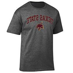 Elite Fan Shop Texas State Bobcats TShirt Varsity Charcoal -