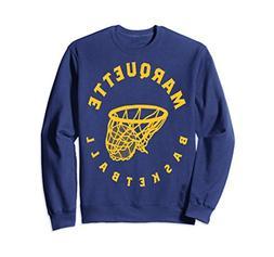 Unisex Marquette University Golden Eagles Basketball Sweatsh