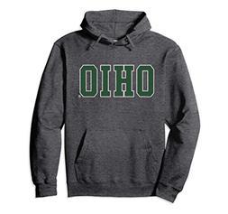 Unisex Ohio University Bobcats NCAA Hoodie 58UTOU Medium Dar