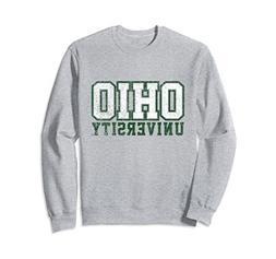 Unisex Ohio University Bobcats NCAA Sweatshirt 06OU Small He