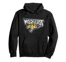 Unisex Towson University Tigers NCAA Hoodie emb1tw Medium Bl