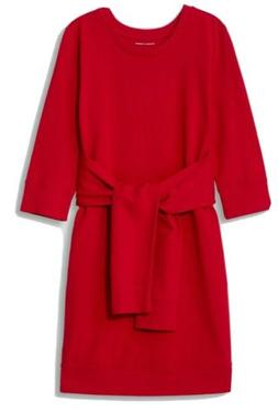 Universal Standard Misa Dress Red Size M  NWT $130