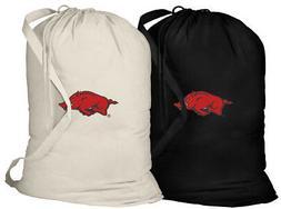 University of Arkansas Laundry Bags 2 Pcs Dirty Clothes Bag