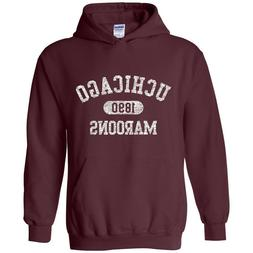 University of Chicago Maroons Athletic Arch Hoodie - Maroon