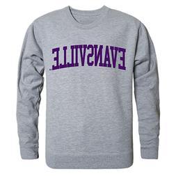 University Of Evansville Purple Aces Crewneck Sweater - Offi