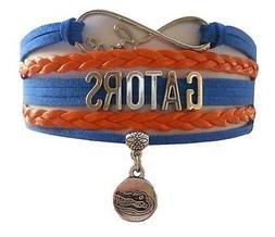 University of Florida Gators College Infinity Bracelet Jewel