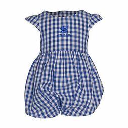 University of Kentucky Gigi Gingham Infant Dress Bubble