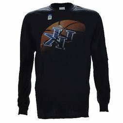 University of Kentucky REAL BALL on Black Long Sleeve Basket